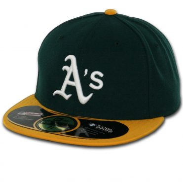 New Era 59Fifty Oakland Athletics 2016 Home Authentic On Field Fitted Hat