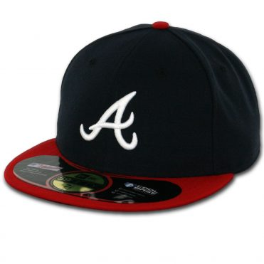 New Era 59Fifty Atlanta Braves 2016 Home Authentic On Field Fitted Hat