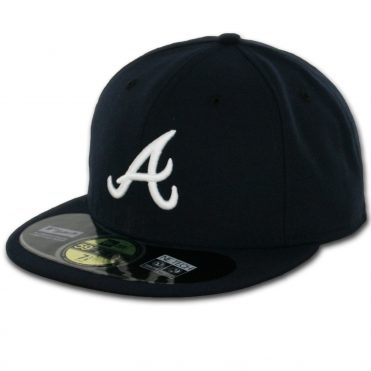 New Era 59Fifty Atlanta Braves 2016 Road Authentic On Field Fitted Hat