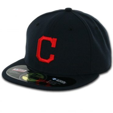 New Era 59Fifty Cleveland Indians 2016 Road Authentic On Field Fitted Hat