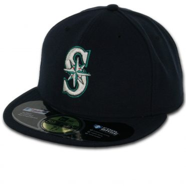 New Era 59Fifty Seattle Mariners 2016 Game Authentic On Field Fitted Hat