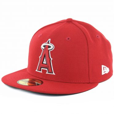 New Era 59Fifty Los Angeles Angels Of Anaheim 2017 Game Authentic On Field Fitted Hat