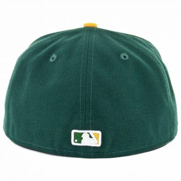 New Era 59Fifty Oakland Athletics Home Authentic On Field Fitted Hat
