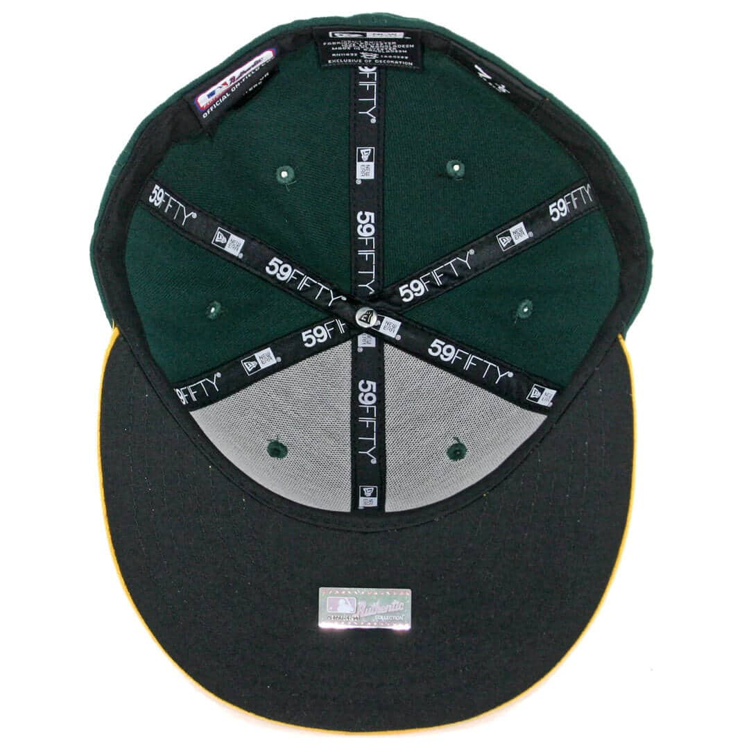edf408142b64 New Era 59Fifty Oakland Athletics Home Authentic On Field Fitted Hat