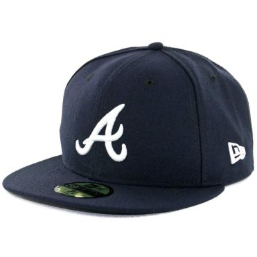 online retailer 825f3 67446 New Era 59Fifty Atlanta Braves Road Authentic On Field Fitted Hat