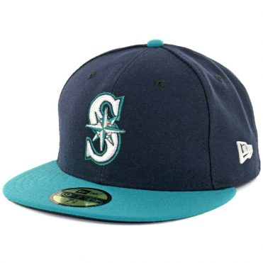 New Era 59Fifty Seattle Mariners 2017 Alternate Authentic On Field Fitted Hat