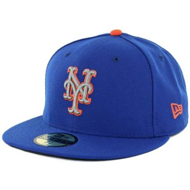 New Era 59Fifty New York Mets Alternate 2 Authentic On Field Fitted Hat