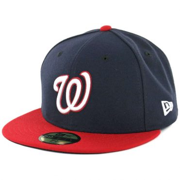 New Era 59Fifty Washington Nationals Alternate 1 Authentic On Field Fitted Hat