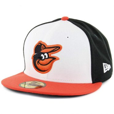 New Era 59Fifty Baltimore Orioles Home Authentic On Field Fitted Hat