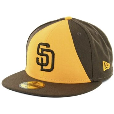 New Era 59Fifty San Diego Padres Alternate 2 Authentic On Field Fitted Hat