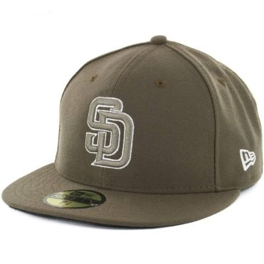 New Era 59Fifty San Diego Padres Alternate 1 Authentic On Field Fitted Hat