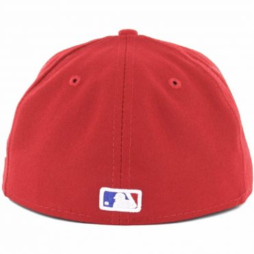 New Era 59Fifty Texas Rangers Alternate Authentic On Field Fitted Hat
