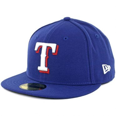 New Era 59Fifty Texas Rangers Game Authentic On Field Fitted Hat