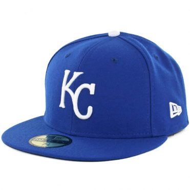 New Era 59Fifty Kansas City Royals Game Authentic On Field Fitted Hat