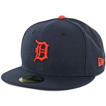 New Era 59Fifty Detroit Tigers 2017 Road Authentic On Field Fitted Hat