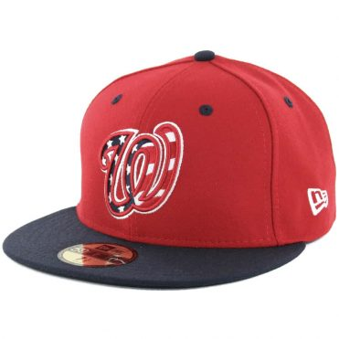 New Era 59Fifty Washington Nationals Alternate 3 Authentic On Field Fitted Hat