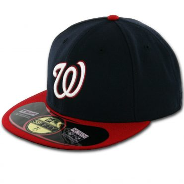 New Era 59Fifty Washington Nationals 2016 Alternate 1 Authentic On Field Fitted Hat