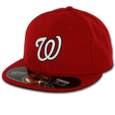 New Era 59Fifty Washington Nationals 2016 Home Authentic On Field Fitted Hat