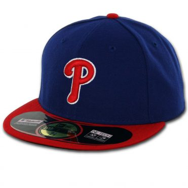 New Era 59Fifty Philadelphia Phillies 2016 Alternate Authentic On Field Fitted Hat