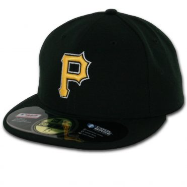 New Era 59Fifty Pittsburgh Pirates 2016 Alternate 1 Authentic On Field Fitted Hat