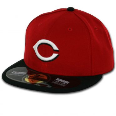 New Era 59Fifty Cincinnati Reds 2016 Road Authentic On Field Fitted Hat