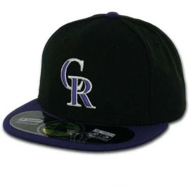 New Era 59Fifty Colorado Rockies Alternate 1 Authentic On Field Fitted Hat
