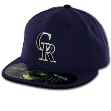 New Era 59Fifty Colorado Rockies 2016 Alternate 2 Authentic On Field Fitted Hat