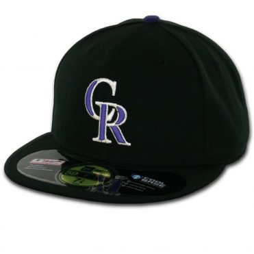 New Era 59Fifty Colorado Rockies 2016 Game Authentic On Field Fitted Hat