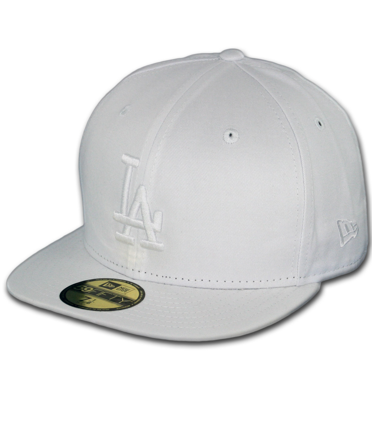 New Era 59Fifty Los Angeles Dodgers Fitted Whiteout, All