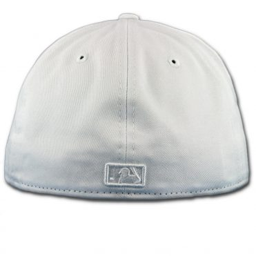 New Era 59Fifty Los Angeles Dodgers Fitted Whiteout, All White Hat