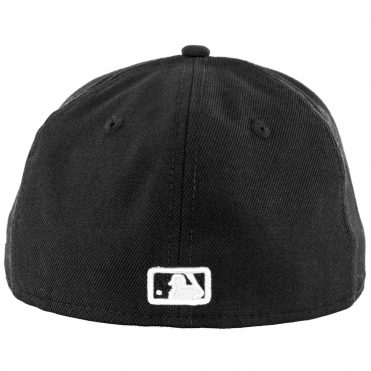 New Era 59Fifty San Diego Padres Fitted Black, Black, White Hat