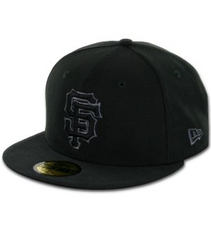 809fd51171e56 New Era 59Fifty San Francisco Giants Fitted Black