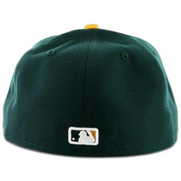 New Era 59Fifty San Diego Padres 2 Tone Fitted Dark Green, White-Gold Hat