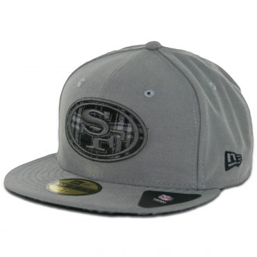 New Era 59Fifty San Francisco 49ers Plaid Fill Fitted Hat