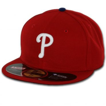 New Era 59Fifty Philadelphia Phillies 2016 Game Authentic On Field Fitted Hat