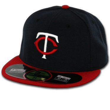 New Era 59Fifty Minnesota Twins 2016 Road Authentic On Field Fitted Hat