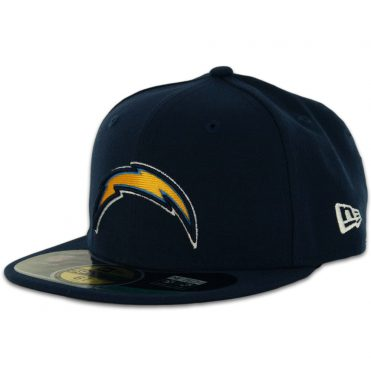 New Era 59Fifty San Diego Chargers Youth On Field Fitted Hat