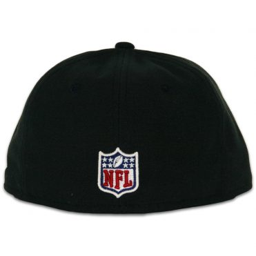 New Era 59Fifty Oakland Raiders Youth On Field Fitted Hat