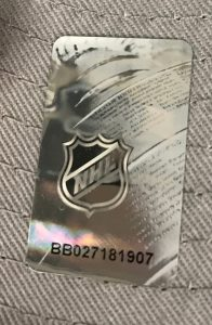 New Era NHL Holographic Sticker