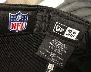 New Era Tags For A 59FIFTY NFL Hat