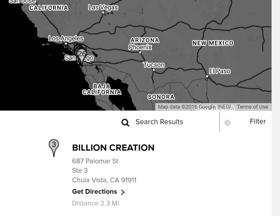 New Era Store Locator Page 2