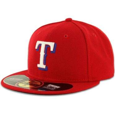 New Era 59Fifty Texas Rangers 2016 Alternate Authentic On Field Fitted Hat