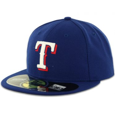 New Era 59Fifty Texas Rangers 2016 Game Authentic On Field Fitted Hat