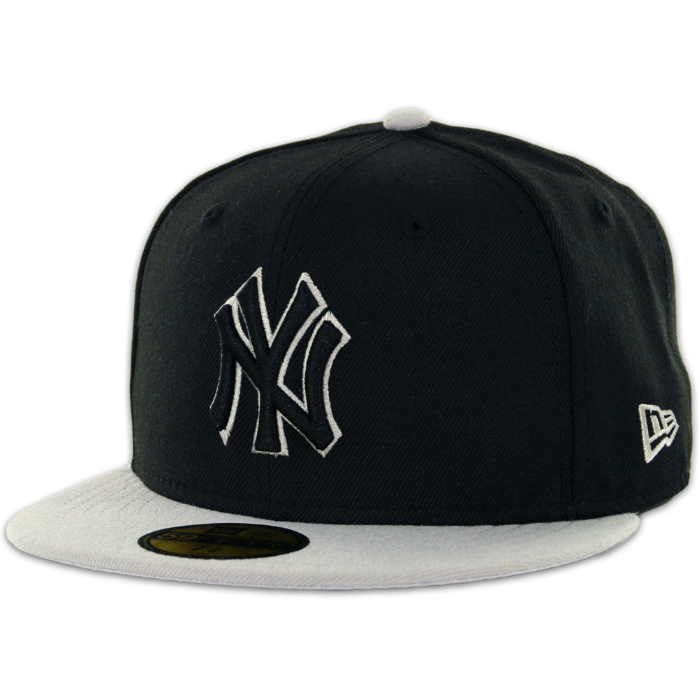 3fcadc83a70 New Era 59Fifty New York Yankees 2 Tone Basic Fitted Hat - Billion Creation  Streetwear