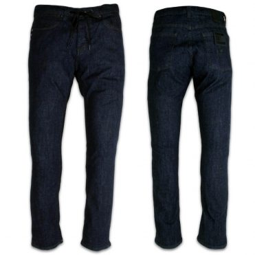 KR3W KStandard Modern Tapered Denim Dark Blue Jeans