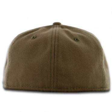 New Era Blanks 59FIFTY Plain Blank Fitted Hat Khaki Sand
