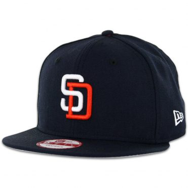 New Era 9Fifty San Diego Padres Tony Gwynn Dark Navy Snapback Hat