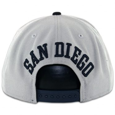New Era 9Fifty San Diego Padres Tony Gwynn Grey Dark Navy Snapback Hat