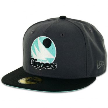 New Era 59Fifty San Diego Clippers Two Tone Graphite, Black, Mint – Black Fitted Hat