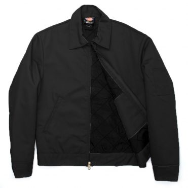 Dickies TJ15 Lined Eisenhower Black Jacket